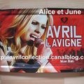 Plateau Avril Lavigne Blue Jean (2007)