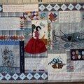 Exposition dans l'oise : patchwork & poésie