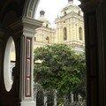 Lima, San Francisco, vue sur le cloître