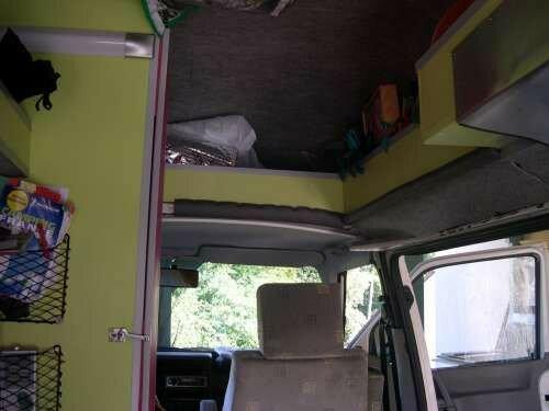 etag res wagon combi volkswagen transporter t4 photo de 3 me am nagement t4 camping car. Black Bedroom Furniture Sets. Home Design Ideas