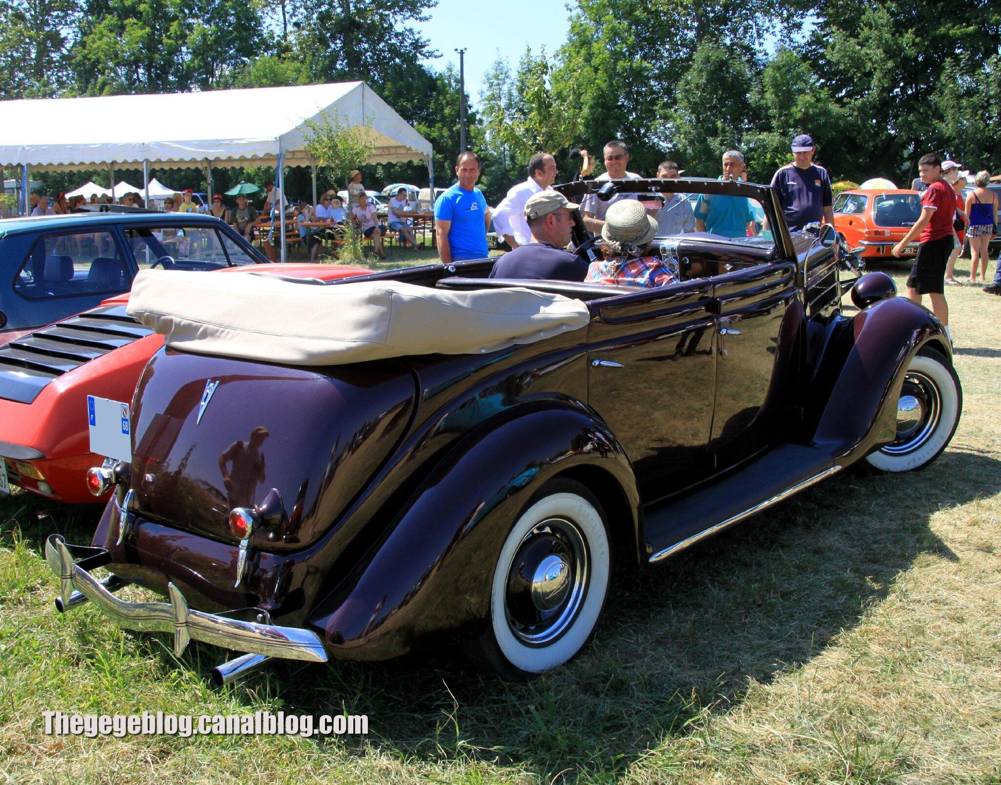 Ford model 68 deluxe convertible sedan de 1936 6 me f te autor tro tang d ohnenheim
