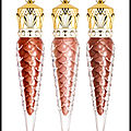 Laque lèvres bronzissima - laque lèvres goldissama - laque lèvres preciosa - collection les metalinudes - christian louboutin