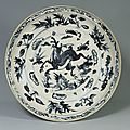 Plate, Vietnam, L dynasty (15th  16th century)