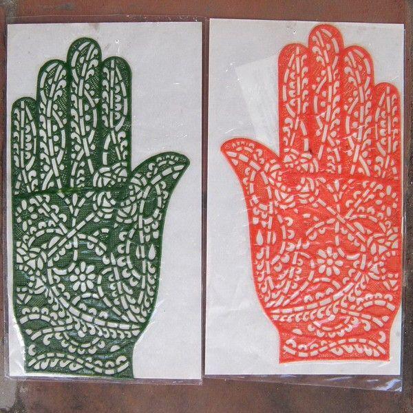 Tatouages au henn et autres orientalichoses - Dessin henne facile faire ...