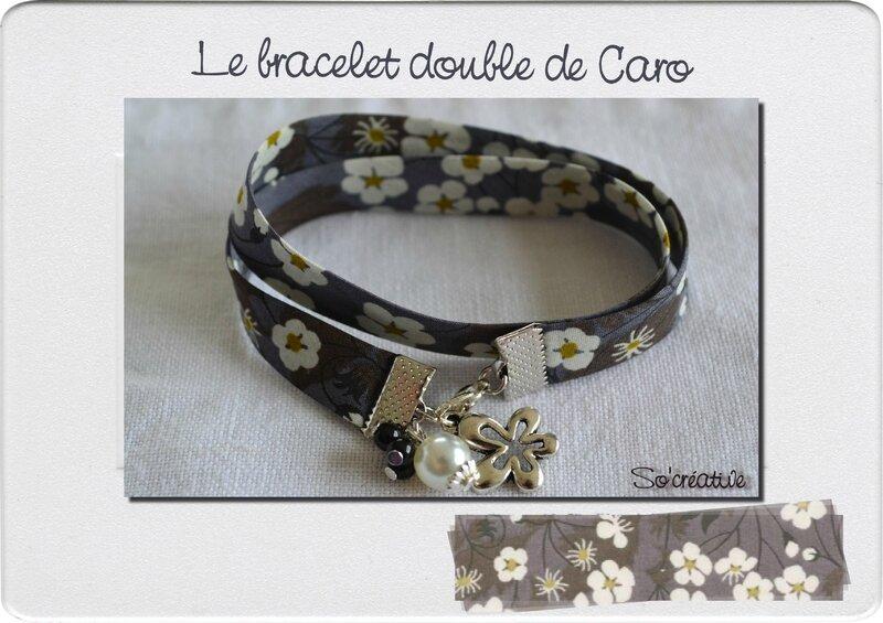 Le bracelet double de Caro