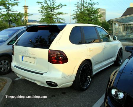 Porsche cayenne tuning (Rencard Burger King mai 2011) 02