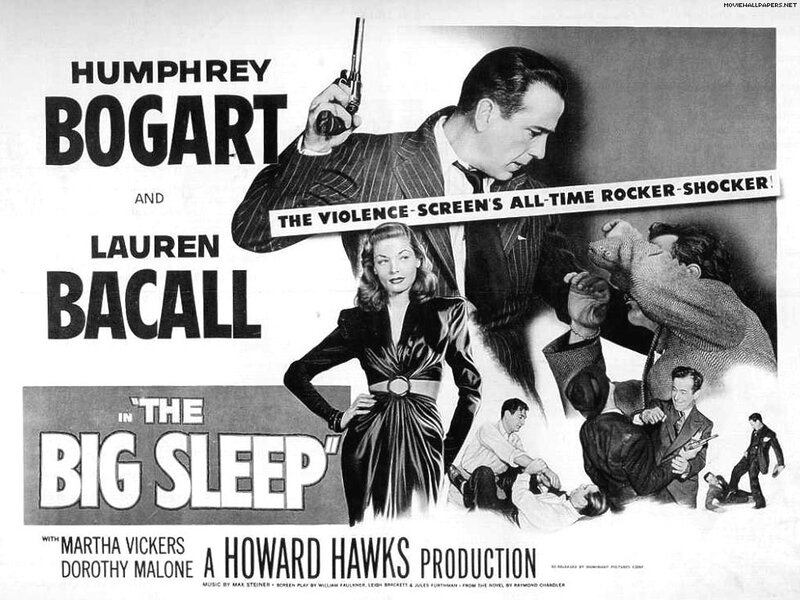The Big Sleep movie poster