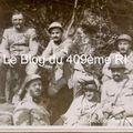 Officiers du 409ème RI - 1917