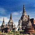 Le sanctuaire wat phra si sanphet