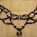Elégant collier en perles
