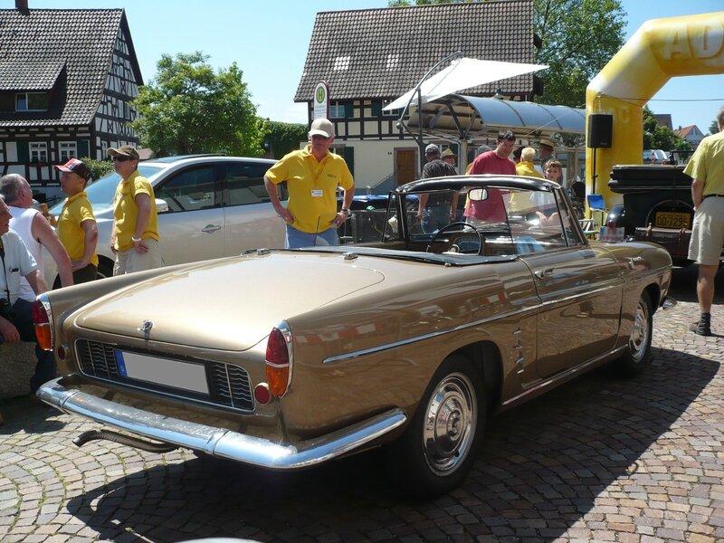 RENAULT Floride R1092 cabriolet 1960 Gundelfingen (2)