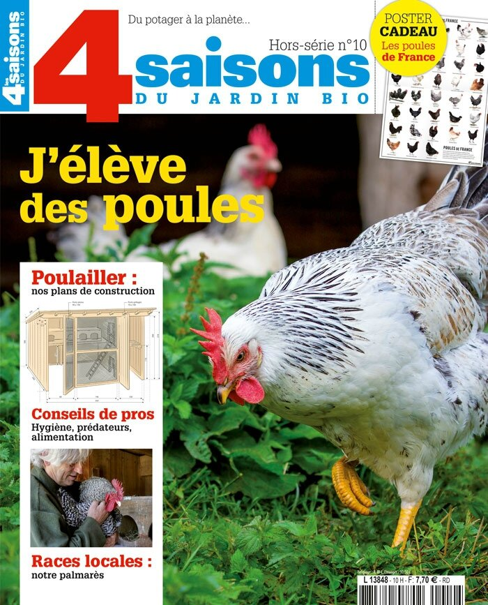 j 39 l ve des poules 4 saisons du jardin bio hors s rie n 10 ma bulle de gourmandise. Black Bedroom Furniture Sets. Home Design Ideas