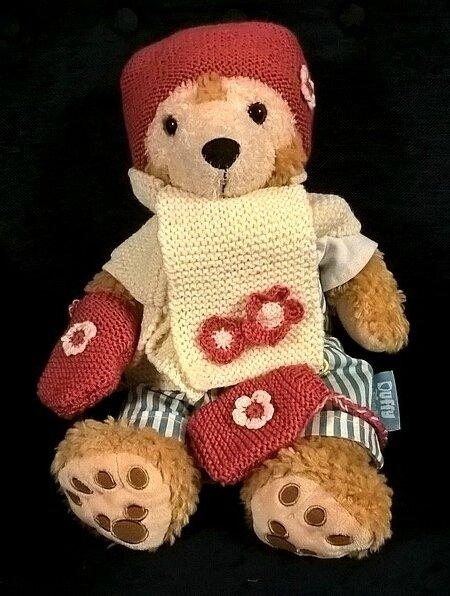 layette bébés restos du coeur ensemble sakura porté par Duffy