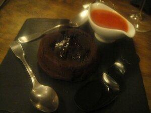 Carton rouge moelleux au chocolat J&W
