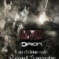 Affiche du concert rock - metal Concert Orion - Hated 25
