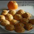 Biscuits à la carotte & à l'orange