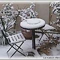 Il neige en provence...