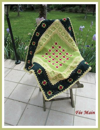 plaid crochet 5
