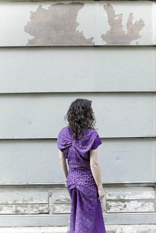 robe méharée batik olivia