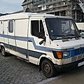 Mercedes tn 207d camping car