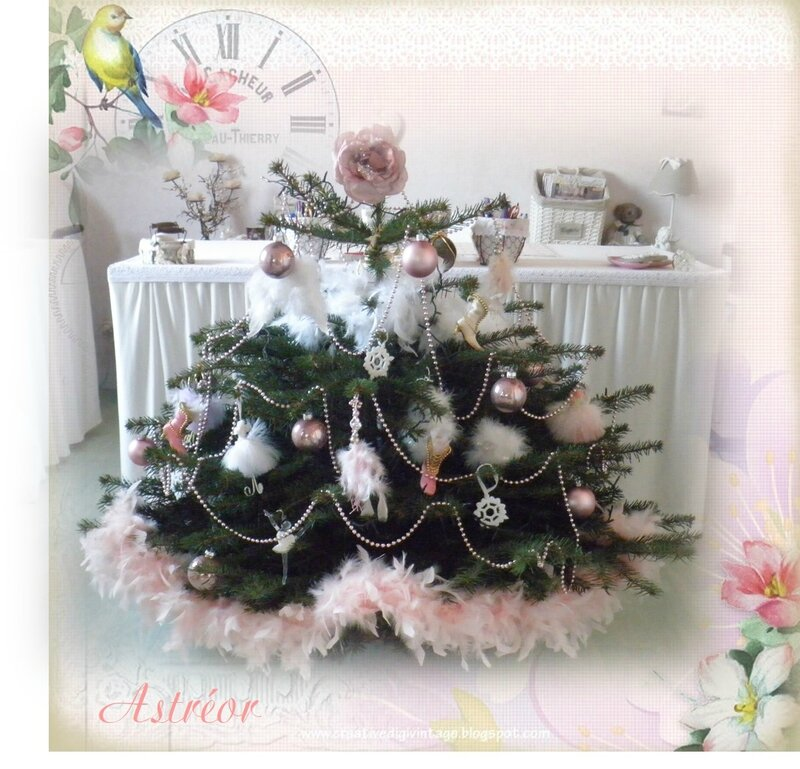 Mon Sapin Shabby Chic Astr Or