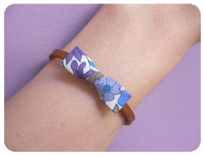 bracelet noeud Liliprune liberty