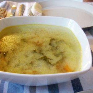 soupe miso aux carottes de Laurence Salomon