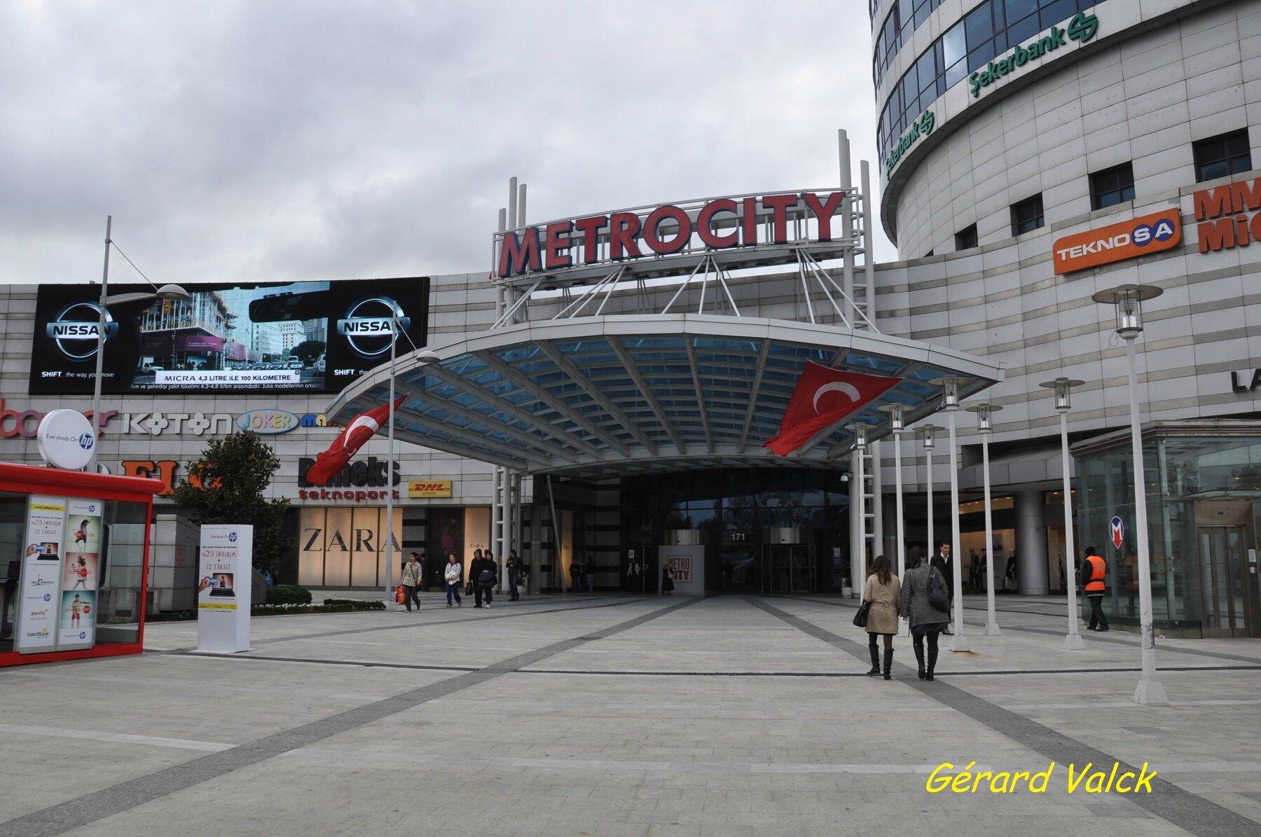 Centre commercial metrocity istanbul la turquie - Centre commercial dreux ...