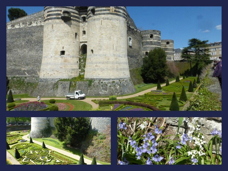 chateau Angers douves