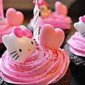 Cupcake Hello Kity