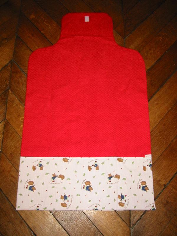 tapis à souris rouge - souris ouvert