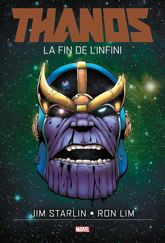 graphic novel thanos la fin de l'infini