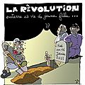 La rvolution enterre sa vie de jeune fille...