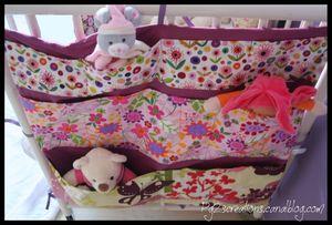 Carre de lit Fleuri
