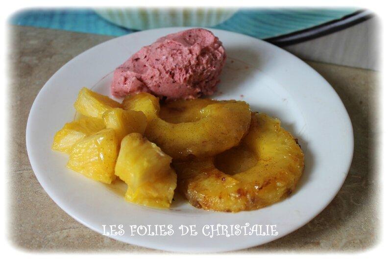 Ananas caramélisé 5