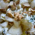 Salade d'endives poire-roquefort