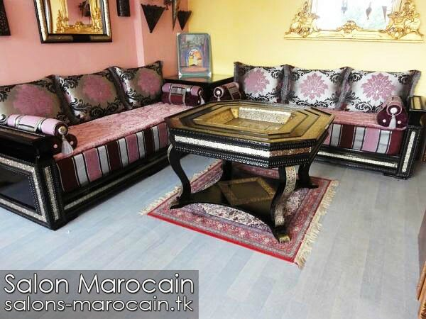 d co salon marocain 2014 salon marocain moderne 2014. Black Bedroom Furniture Sets. Home Design Ideas