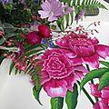 Les fleurs du jardin en bouquet