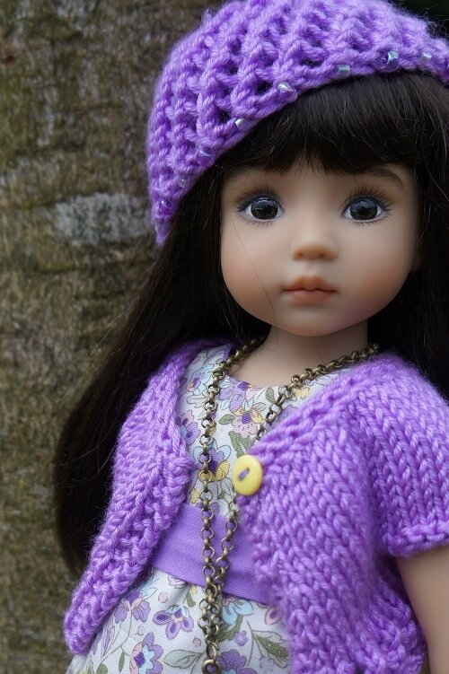 Hélène , Little Darling de Lana Dobbs est prete pour le printemps !