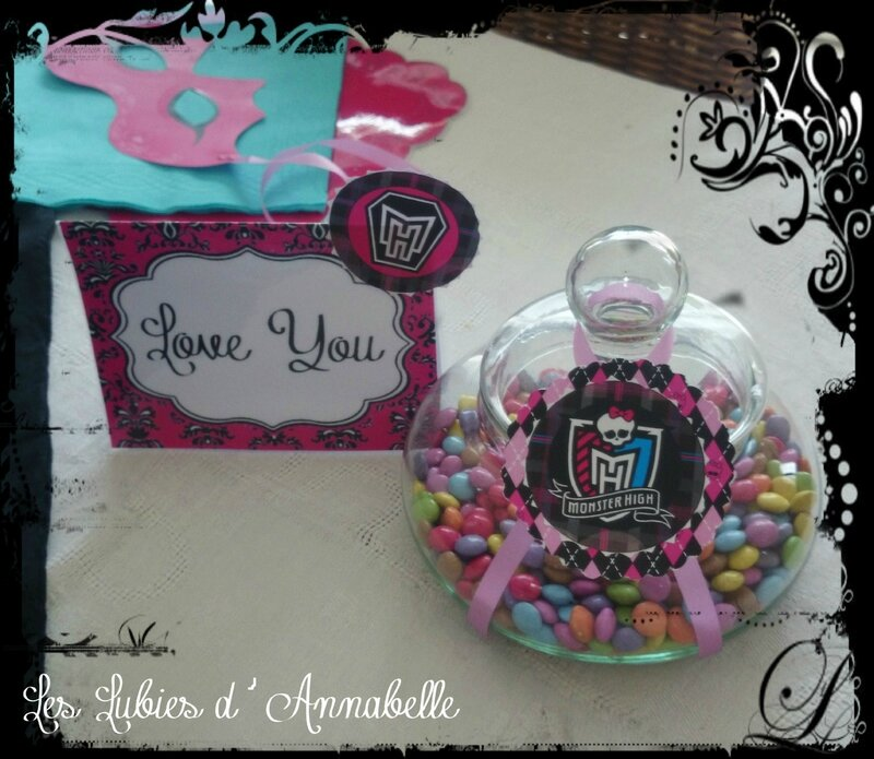 Bonbons Monster High