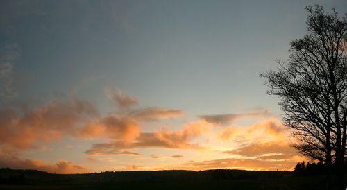 2008 10 11 Panorama du coucher de soleil