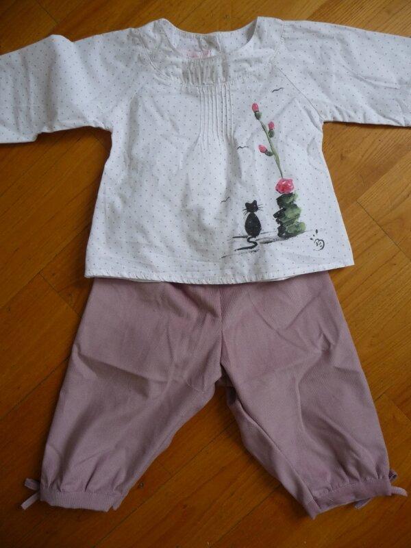 pantalon rose Faufau 008