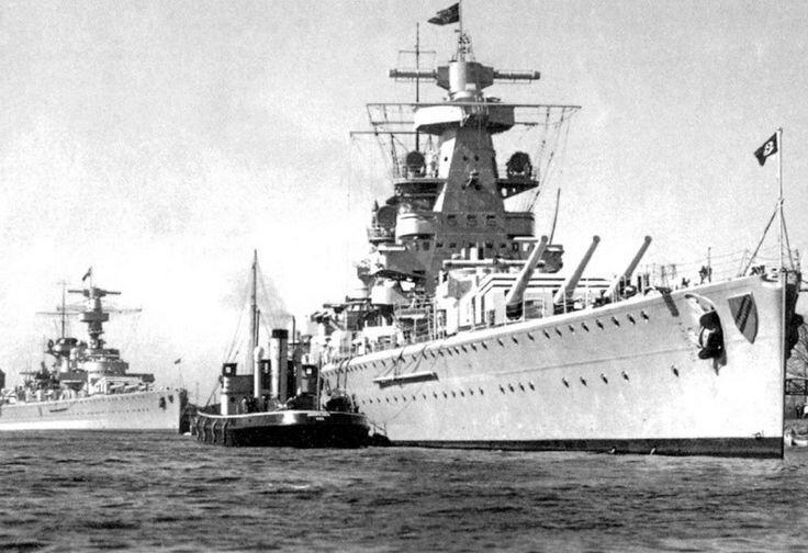 Deutschland et admiral Scheer_pinterest
