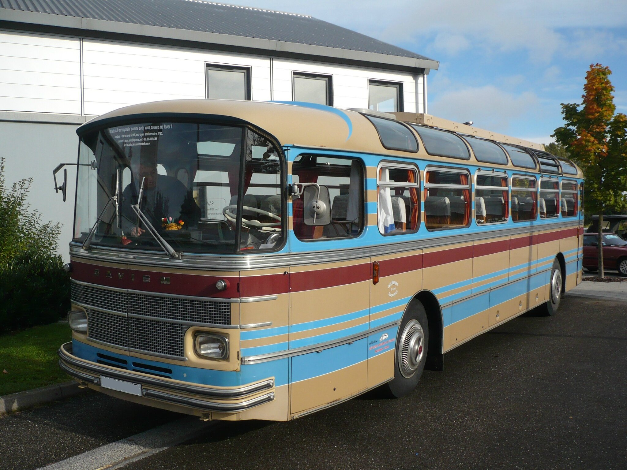 SAVIEM S53M autocar version Excursion 1971 Weyersheim (1)