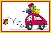 9881428-famille-va-en-vacances-en-voiture-avec-des-bagages