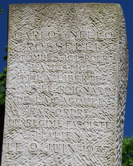 rosselli-inscription