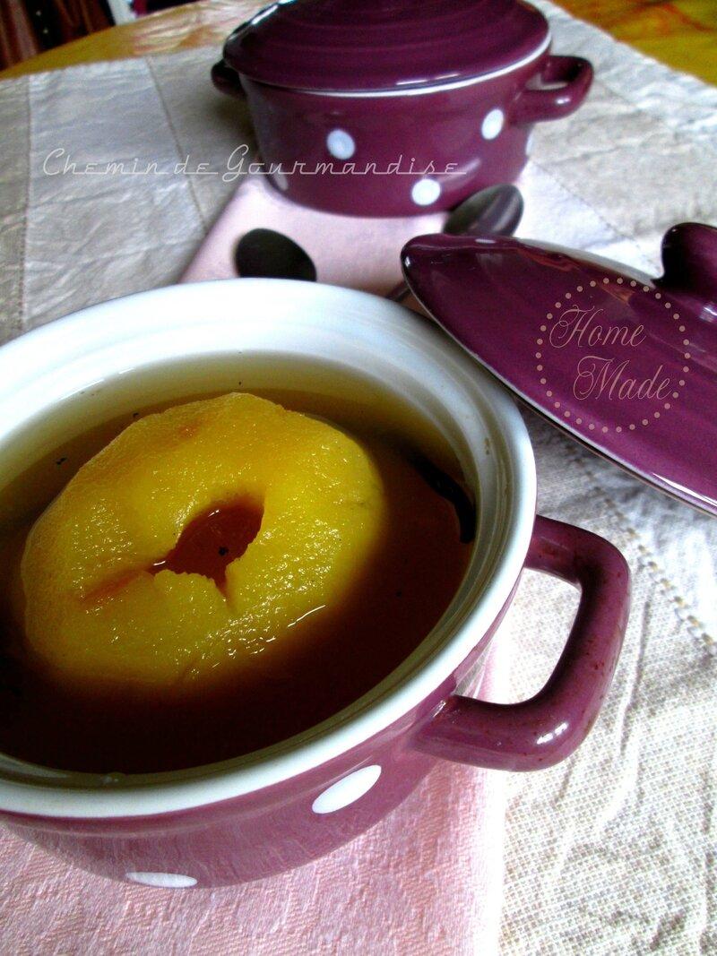 Pommes Pochés aux Thés1
