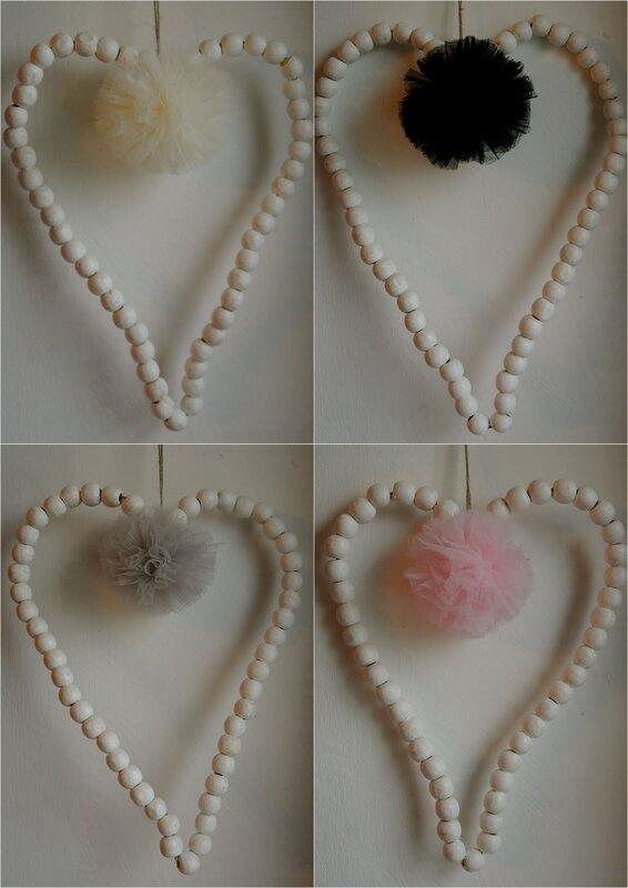 coeur perles pomp