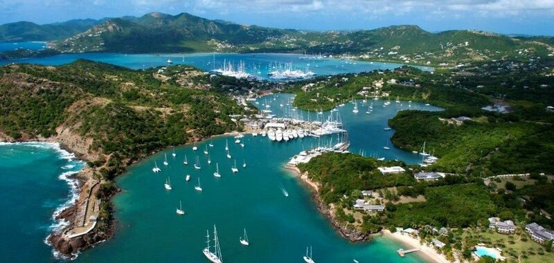 English harbour Antigua Sailing Week - Photo Credit Ted Martin