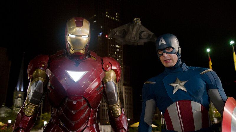 Captain America et Iron Man